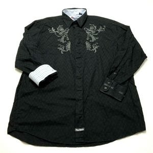 English Laundry Classic Collection Flip Cuff Shirt